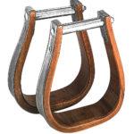 Étriers western WESTRIDE bois/métal