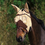 """Masque anti-mouches EQUITHÈME """"Fly protector"""""""