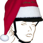 Couvre casque EQUITHÈME Noël