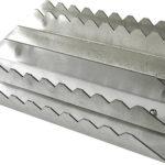 Étrille aluminium rectangulaire