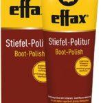 EFFAX Brillant noir pour bottes