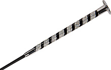 Cravache de dressage WHIP & GO Diamond 120 cm