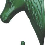 Porte-bride tête de cheval