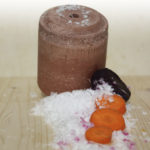 Bloc de sel OFFICINALIS® Lollyroll - Carottes / Souci / Blettes