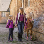 Boots synthétiques EQUI-KIDS Pois