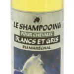 Shampooing pour chevaux blancs et gris du Maréchal