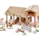 Le poney club PAPO, avec 4 figurines