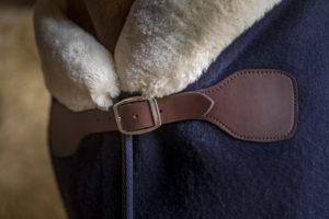 """Couverture laine EQUITHÈME """"Teddy"""""""
