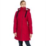 Manteau long matelassé Horseware pour femmes