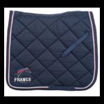Tapis de selle Lami-Cell French Flag - Dressage