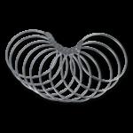 Anneaux d´exposition, sans crochet