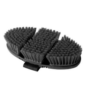 Brosse de pansage Flex poil synthétique