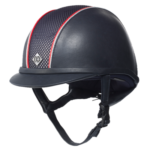 Casque AYR8 leather, Piping Charlotte Dujardin Charles Ow