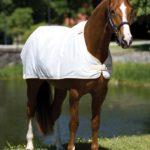 Doublure pour couverture anti-mouches Horseware Blanc
