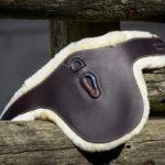 Sangle bavette cuir/mouton HFI