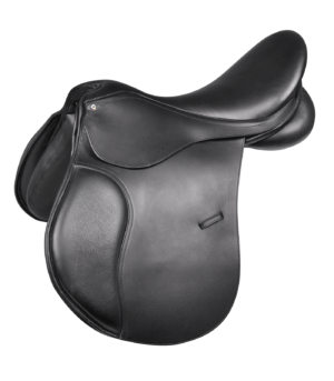 Selle mixte en cuir Comfort pour poney