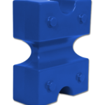 Cubes d'obstacles Cavaletti, en plastique