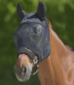 Masque anti-mouche PREMIUM, avec protection d'oreilles