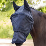 Masque anti-mouche PREMIUM, avec protection des oreilles et du chanfrein