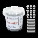 Safe-Gum, lot de 18 élastiques, mélangés