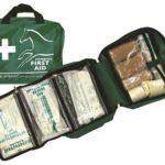 Trousse premier secours d'urgences