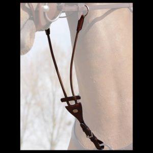 Fourchette de martingale à anneaux élastiques