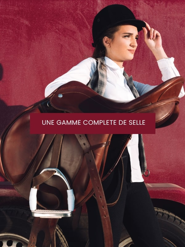 Gamme selle cheval - equitation